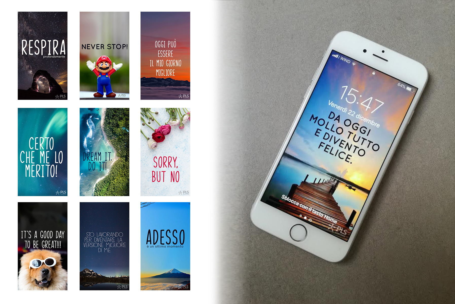 Scarica i nuovi screensaver: le immagini per cellulari che regalano ispirazioni